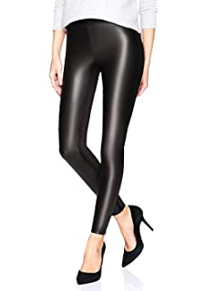 0661b78b2de183 LAKOSMO Faux Leather Leggings for Women, Black Leather Pants Women High  Waisted,Birthday Gifts