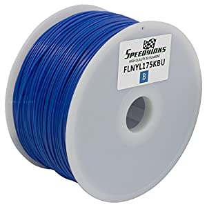Speedy Inks - 1.75mm 1kg Nylon Blue Filament for 3D Printers