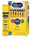 Enfamil NeuroPro Baby Formula Milk Powder, 14 single serve packets (17.6 gram each) - MFGM, Omega 3 DHA, Probiotics, Iron & Immune Support