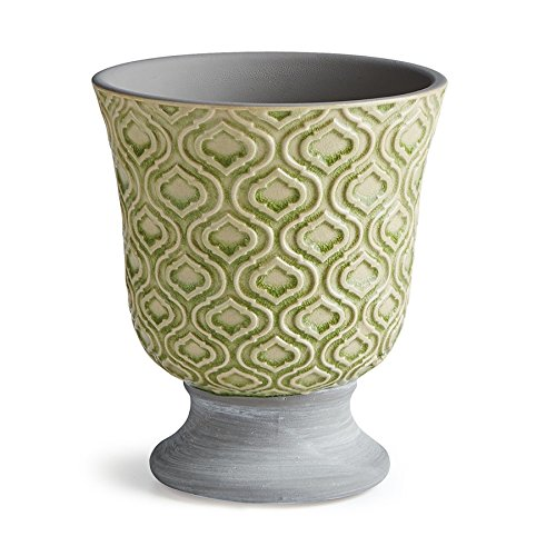 Napa Home & Garden NINA 4.5'' FOOTED URN LIGHT GREEN
