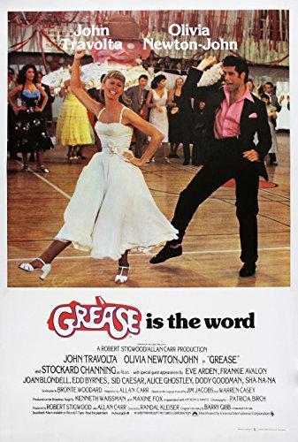 Decoration Poster.Grease the movie.Travolta Olivia Newton John.8158
