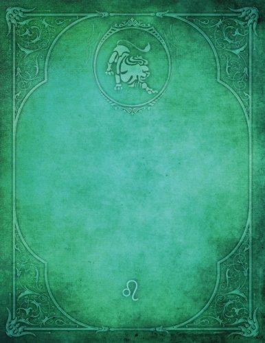 Monogram Leo Blank Sketchbook: Art Sketch Pad Notebook (Monogram Elegance 150 Sketch) (Volume 74) ebook