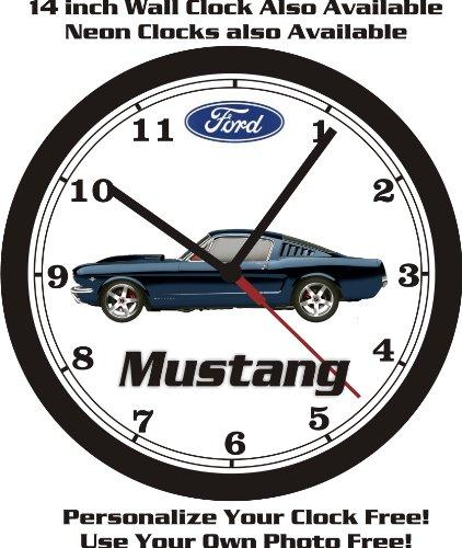 mustang car clock - 7