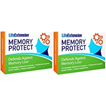 Life Extension Memory Protect Powerful Dual-Action Cognition & Memory Support 12 Colostrinin-Lithium (C-Li) Capsules | 24 Lithium (Li) Capsules, 2 Pack