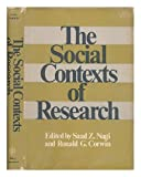 Social Contexts of Research, Nagi, 0471628506