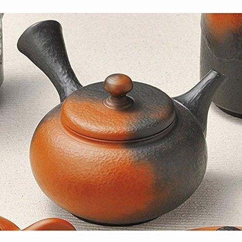 Japanese ceramic Tokoname ware. Kyusu teapot. 180cc