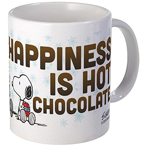 CafePress Peanuts Hot Chocolate Mugs Unique Coffee Mug, Coffee Cup