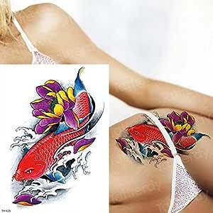 3ps-Tattoo animal lion head tattoo sticker body art forest negro ...