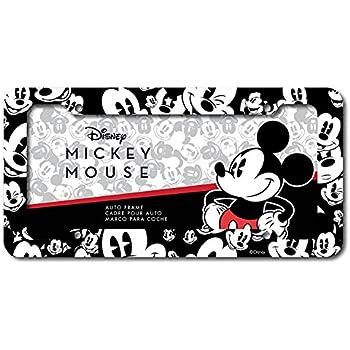 Amazon.com: Infinity Stock Disney Mickey Plastic License Plate Frame ...
