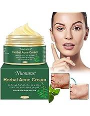 Acne Crema, Crema Anti Acne, Crema Acne, Crema Cicatrici Acne, Crema Viso Acne, Gel anti acne per il viso, il collo, petto e schiena, 100g