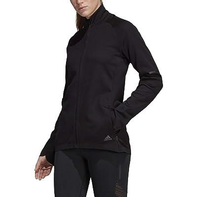 adidas Running Ultra Track Jacket, Black, Small: Clothing