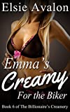 Emma's Creamy for the Biker: Book 6 of the Billionaire's Creamery