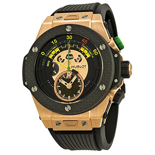 Hublot Big Bang Unico Bi-Retrograde FIFA 2014 Black Dial Mens Watch 412OQ1128RX