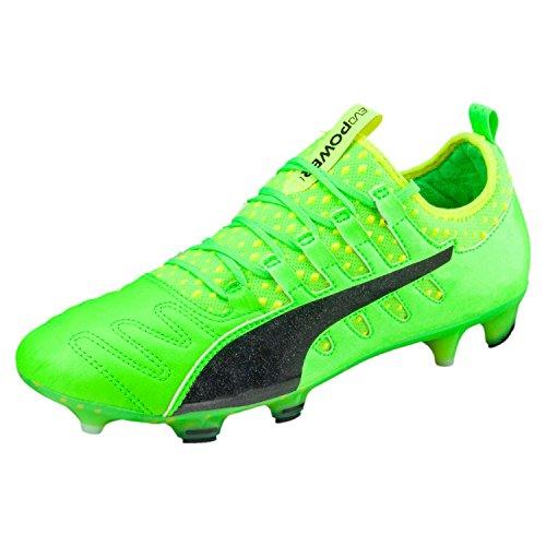Puma Evopower Vigor 1 K Lth Fg, Botas de Fútbol para Hombre Verde