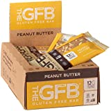 The GFB Gluten Free, Non GMO High Protein Bars, Peanut Butter, 2.05 Ounce (Pack of 12) Packaging May Vary