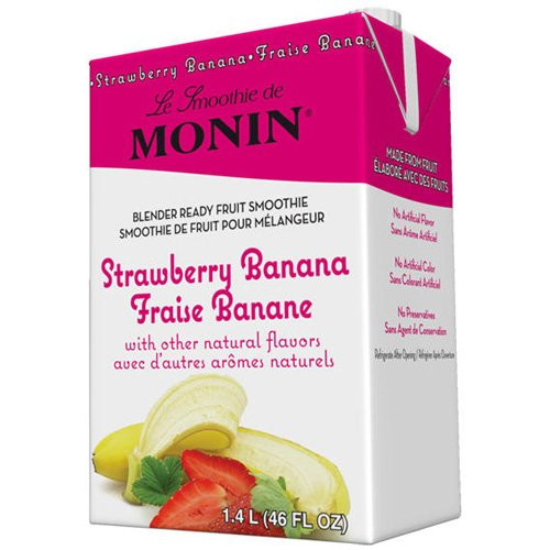 Monin Inc. Smoothie Mixes Monin Strawberry Banana Fruit Smoothie Mix