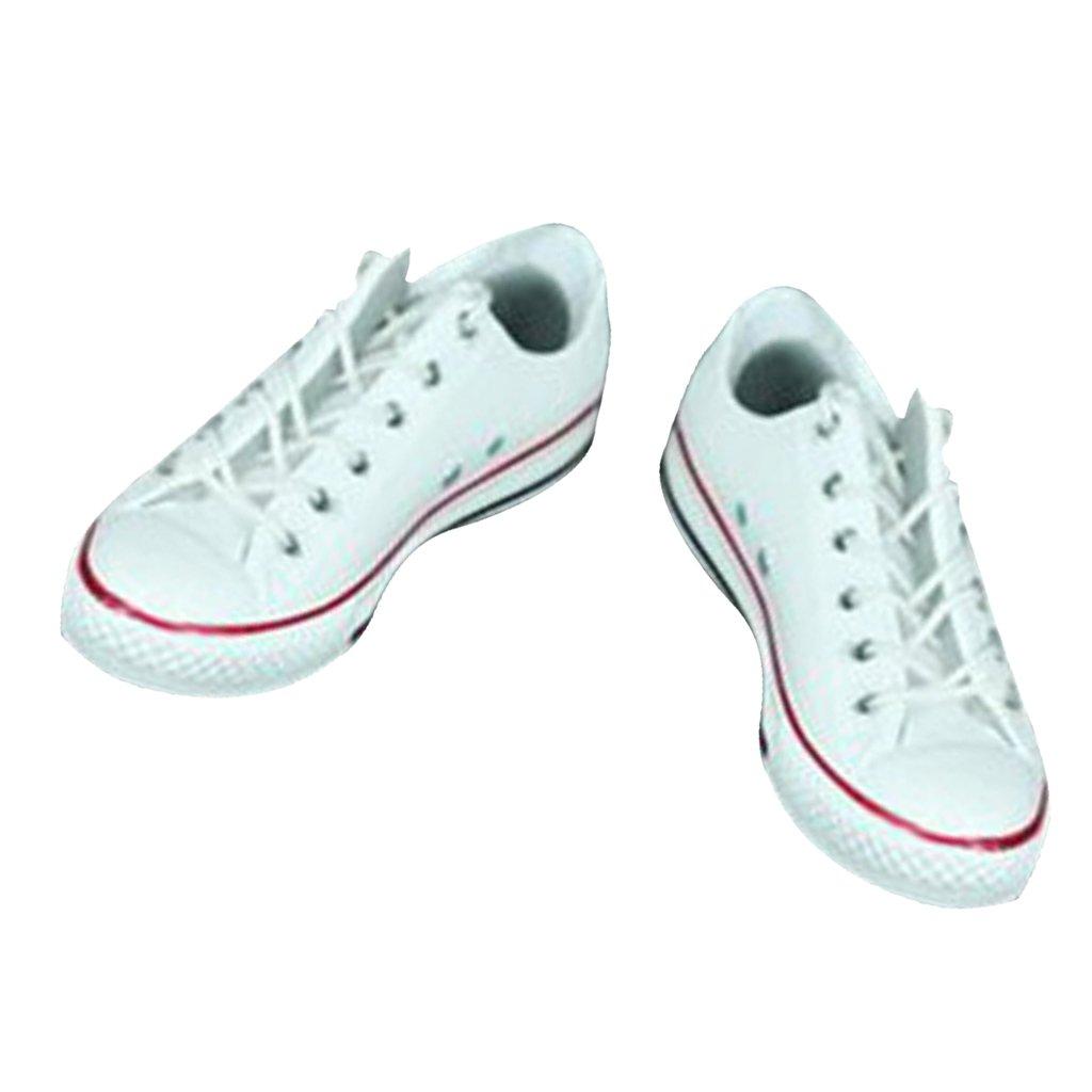 2 Paio Scarpe Da Ginnastica Tela Sneakers Per Azione Figure Maschile 12'' 1aIaoG