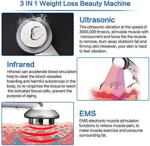 EMS Sliming Massager for Body Belly Massager Machine Muscle Massage Skin Tighten and Reduce Stria Gravidarum 3 in 1 Infrared Beauty Device for Women 2