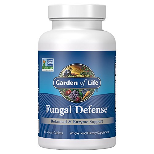 Garden of Life Botanical, Enzyme, and Fermented Whole Food Supplement - Fungal Defense for Digestive Health, Vegetarian, 84 Caplets by Garden of Life