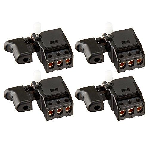 (4) Hitachi 998-839 Switch 1P Pillars w/Lock for C10FS, C10FSH, C10FSB, C8FB, C8FB2