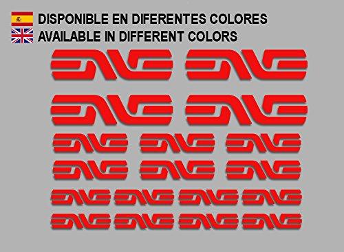 Rojo Ecoshirt I1-FOII-6XUU Pegatinas Enve F184 Vinilo Adesivi Decal Aufkleber Клей MTB Stickers Bike