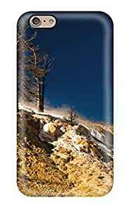 Fashion PtANkzh3166Tnvag Case Cover For Iphone 6(yellowstone National Park Mammoth Springs Earth Nature Other)