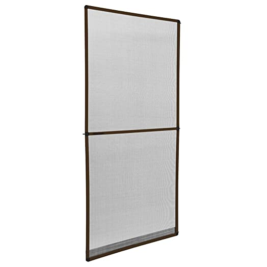 TecTake Mosquito insect net mesh guard for doors with aluminium frame 95x210cm