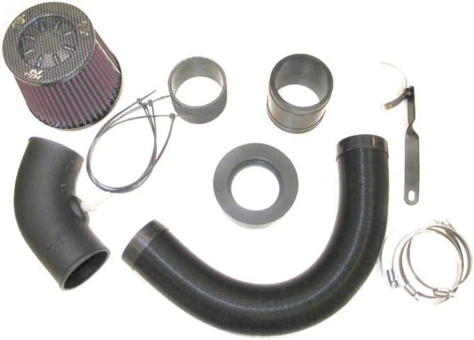 K/&N 57-0647 Waschbarer und wiederverwendbarer KFZ Hochleistungsluftfiltersystem
