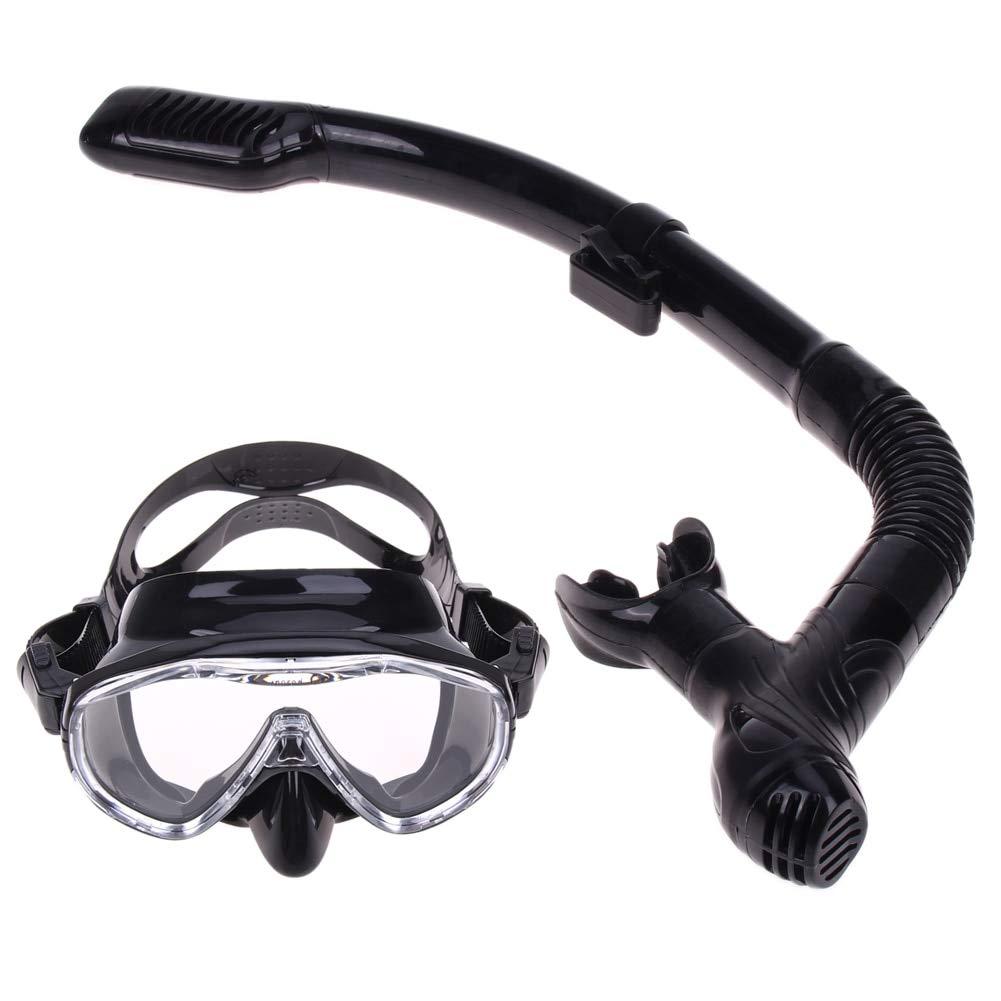 0ebd9fdb09c4 Amazon.com   LDCRE 2018 New Professional Scuba Diving Mask Snorkel Anti-Fog  Goggles Glasses Set Silicone Swimming Fishing Pool Equipment   Sports    Outdoors