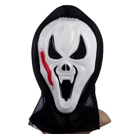 guchis Horror largo Face Ghost Face que grita Grimace máscara de ...