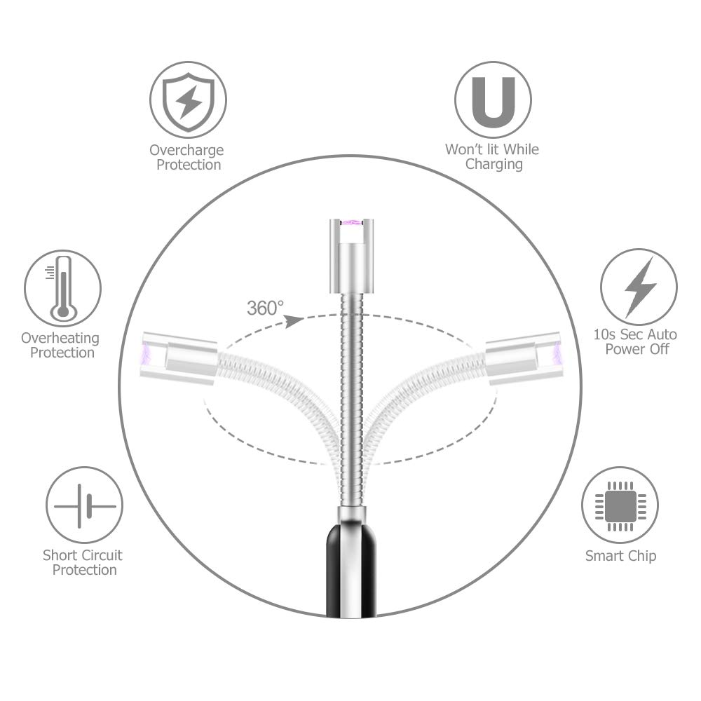 amazon ronxs electric arc lighter upgraded candle lighter usb Cat 5 Schematic Symbol amazon ronxs electric arc lighter upgraded candle lighter usb rechargeable long lighter flameless windproof electronic lighters w 360 flexible neck