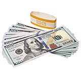 RUVINCE Play Money for Kids Prop Money 100 Dollar