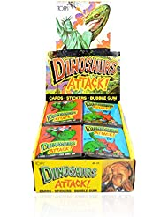 1988 Topps Dinosaurs Attack Box 48 Packs