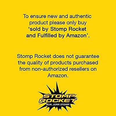 Stomp Rocket Stunt Planes - 3 Foam Plane Toys for Boys and Girls - Outdoor Rocket Toy Gift for Ages 5 (6, 7, 8) and Up: Toys & Games