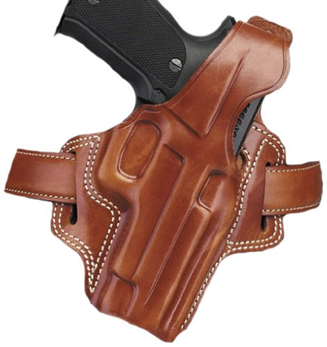 Galco Gunleather Fletch High Ride Belt Holster for Sig-Sauer P226, P220 (Tan, Right-hand)