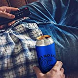 Dichmag White Can Cooler Coozie Sleeve for