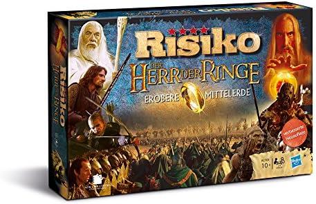 Winning Moves Risiko Herr Der Ringe Niños y Adultos Estrategia - Juego de Tablero (Estrategia, Niños y Adultos, 10 año(s), Alemán, Alemán, 62 Pieza(s)): Amazon.es: Juguetes y juegos