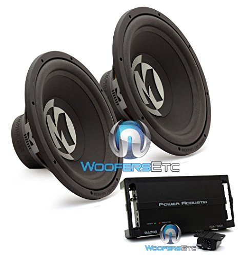 15 inch subwoofer amp package - 8