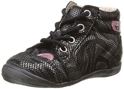 GBB Nicole - Zapatos de primeros pasos Bebé-Niños Negro - Noir (11 Vte Noir/Zébra Dpf/Kezia)