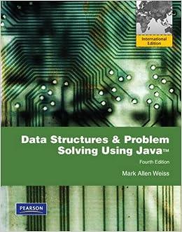 Data Structures and Problem Solving Using Java: International Edition: Amazon.es: Mark Allen Weiss: Libros en idiomas extranjeros