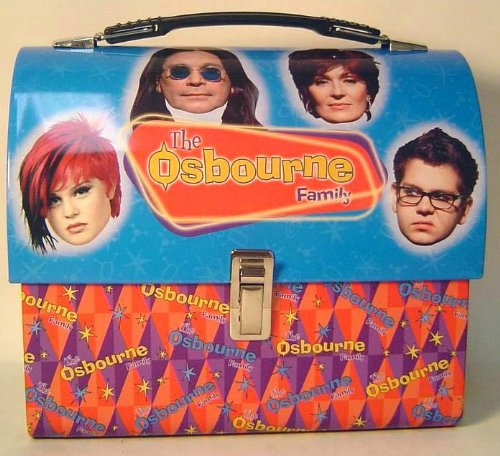The Osbourne Family Full Size Tin Dome Lunch Box Dome Lunch Box
