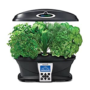 Aerogarden ultra with gourmet herb seed pod for Indoor gardening amazon