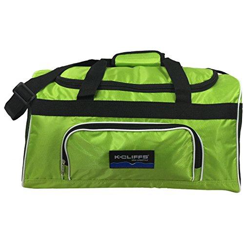 Medium Sport Duffel Bag Fitness Gym Bag Luggage Travel Bag Sports Equipment  Gear Bag Apple Green Sporting Goods Team Indoor Volleyball Volleyball Bags 0e9cd6584e