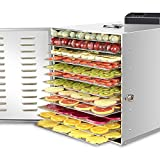 12 Layers Fruit Dryer Vegetable Dryer Soluble Beans Air Dryer Dried Fruits Mini Snack Dryer