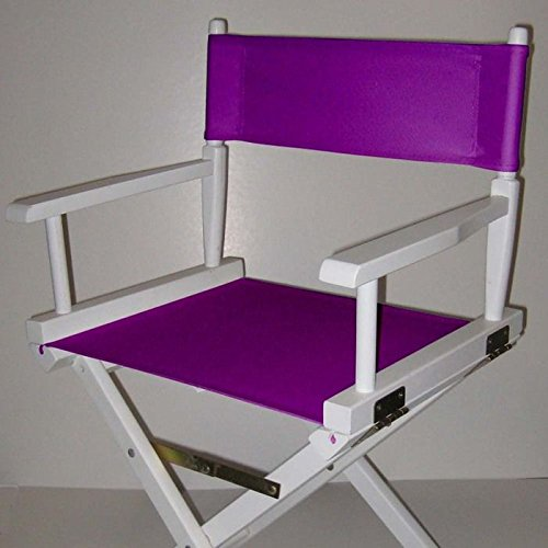 Casual Home Director Chair Replacement Canvas, Purple