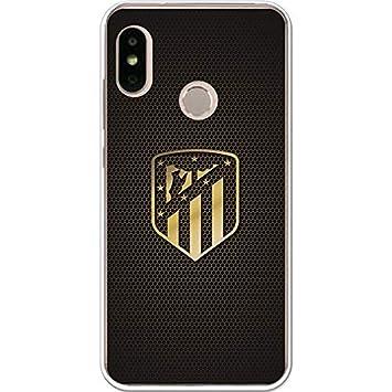 Atlético de Madrid Carcasa Escudo Oro para Xiaomi Mi A2 Lite ...
