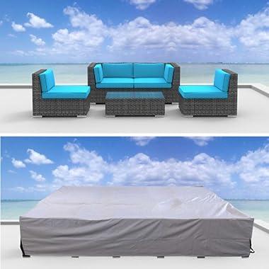 Urban Furnishing Premium Outdoor Patio Furniture Cover (6.8' x 6.8' x 2.3')