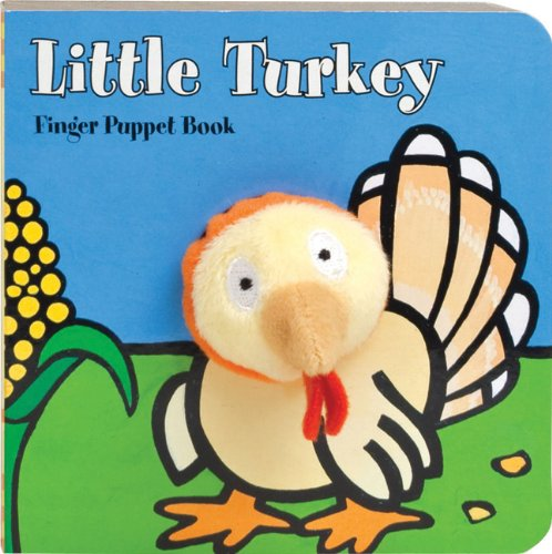 Little Turkey: Finger Puppet Book (Little Finger Puppet Board Books)