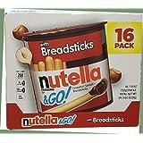 Nutella and Go Spread + Breadsticks 16 (832 Gram), 832 Grams