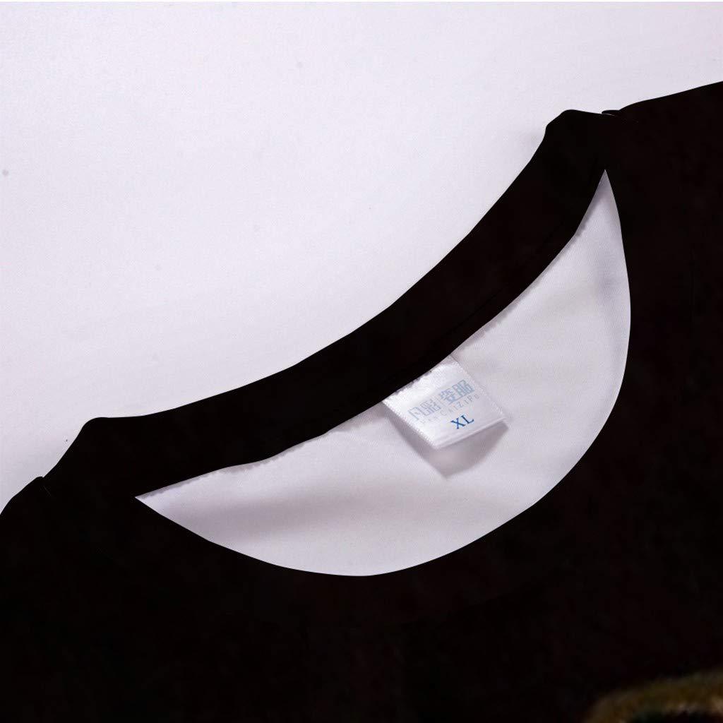 Mens Summer 3D Printed Short Sleeves Fashion Comfort Blouse Top
